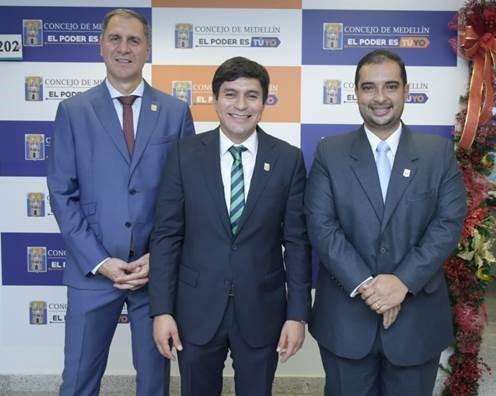 Nueva Mesa Directiva para la vigencia 2019: presidente, Jaime Alberto Mejía Alvarán; vicepresidente primero, Ricardo León Yepes Pérez; y vicepresidente segundo, Manuel Alejandro Moreno Zapata.
