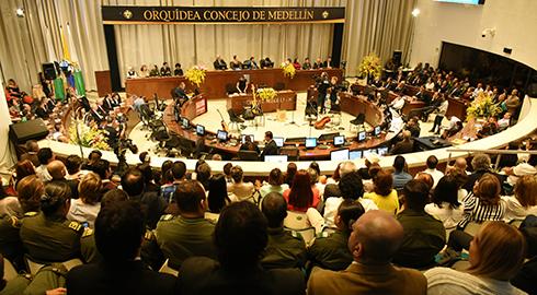 Recinto de Sesiones Concejo de Medellín
